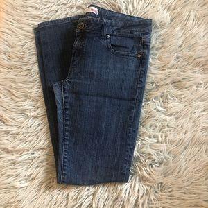 Shank women's jeans mid rise , medium wash skinny